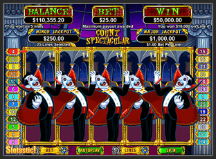 Count Spectacular Slot Jackpot