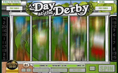 A Day at the Derby Slot Game Play