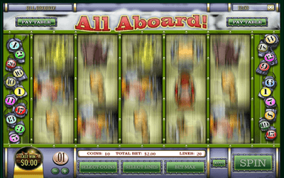 All Aboard slot game
